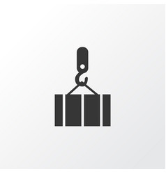 overhead crane icon symbol premium quality vector image