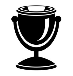 Street urn icon simple style vector