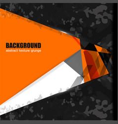 Background texture geometric orange vector
