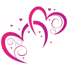 Elements for design for valentines day vector