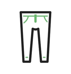 Trousers vector