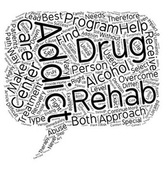 How to select the right drug and alcohol rehab vector