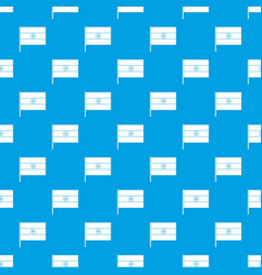 Indian flag pattern seamless blue vector