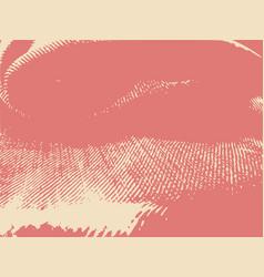 Distress overlay background grunge fiber texture vector