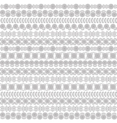 Seamless pattern with the flowers floral vector