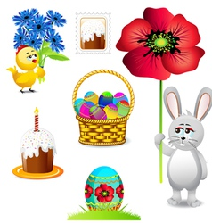 easter collections vector image