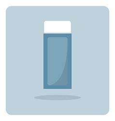 Flat icon eraser vector