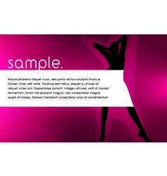 Silhouette Design vector image