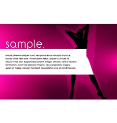 Silhouette Design vector image vector image
