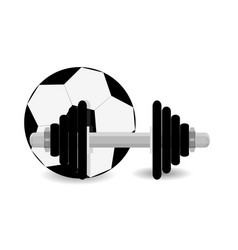 soccer training vector image vector image