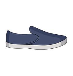 Blue men summer espadrilles summer comfortable vector