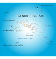 French polynesia vector
