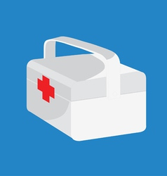 Medical box vector