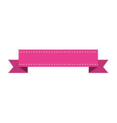 ribbon of frame icon vector image vector image