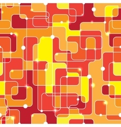 Seamless Geometric Pattern Background for design vector image vector image