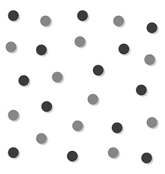 Gray Black Circle Abstract White Background vector image