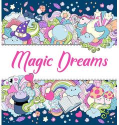 Magic dreams background wallpaper texture vector