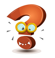 Question mark character vector