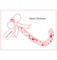 sweet candy cane vector image vector image