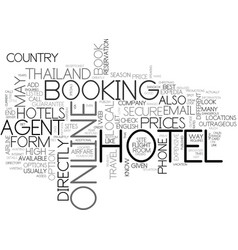 What s the best way to book your hotel in vector