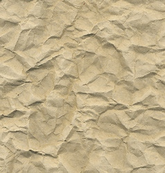 Cardboard crushed paper vector