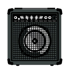 combo amplifier for guitar vector image vector image