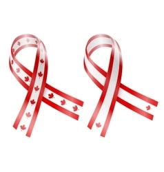 Flag ribbon vector
