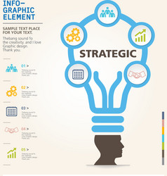 Modern info-grapgic design template vector