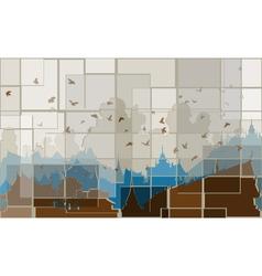 Mosaic orient vector image