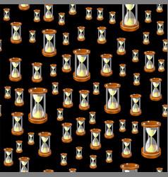 sandclock seamless pattern vector image