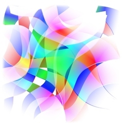 Abstract colorful background frame vector image