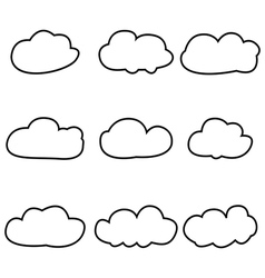 Clouds 2 vector image