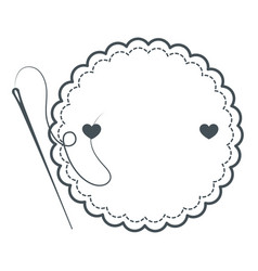 cute label banner vector image vector image