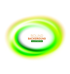 Round modern background vector image vector image