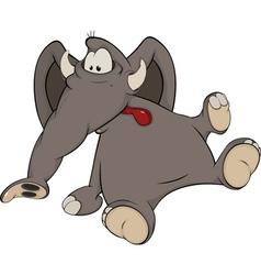 The elephant calf2 vector