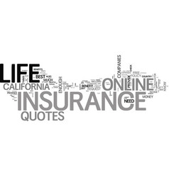What s the big deal about online life insurance vector