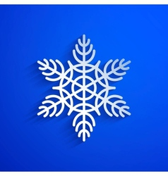 Background with snowflake eps10 vector