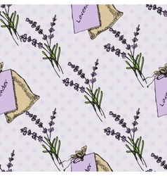 Health and nature collection lavender vector