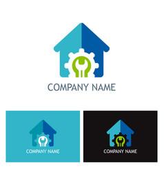 House renovation logo vector
