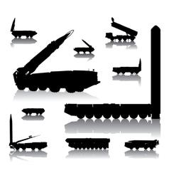 Launcher set vector image vector image