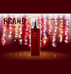 premium ads for marketing and advertising spray vector image