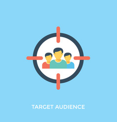 Target audience vector