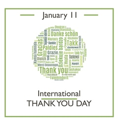 Thank You Day vector image