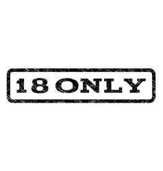 18 only watermark stamp vector