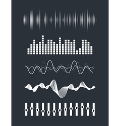 Audio equalizer vector