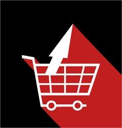 Market refund symbol vector