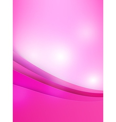 Abstract background pink curve and layed element vector