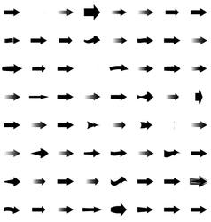 Arrows Cursors Set EPS 10 vector image