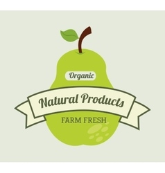 Healthy product design vector