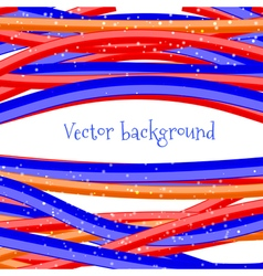 Abstract background Bright wire on a white backgro vector image